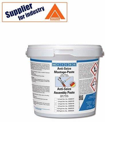 Weicon Anti-Seize 1.8kg pasta de asamblare, rezistent la temperaturi inalte