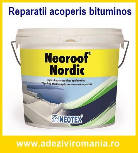 Hidroizolatie acoperis bituminos carton, membrana TopWork-Neoroof Nordic 13