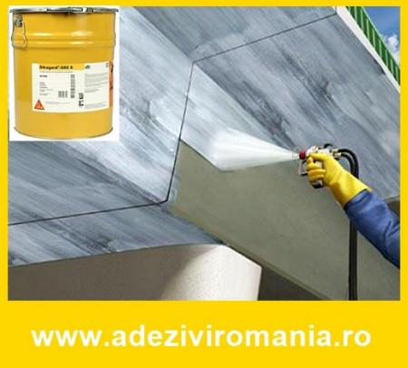 Vopsea protectie beton Sikagard 680 S 30 kg RAL 7032 MAT