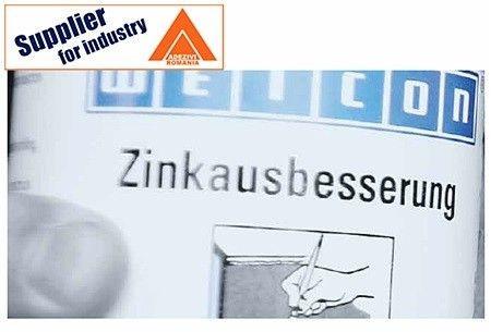 Lichid Weicon Zinc 750ml pensulabil, anticoroziv, culoarea galvanizarii
