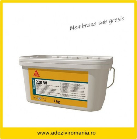 Hidroizolatie baie, cabina dus Sikalastic 220 W la 7 kg