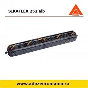 Adeziv structural industrial Sikaflex 252 alb 600 ml