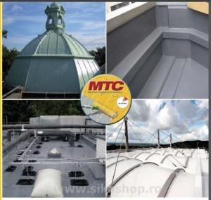 Hidroizolatie acoperis membrana lichida SikaLastic 614 RAL7045 ambalaj 21.75 kg MTC