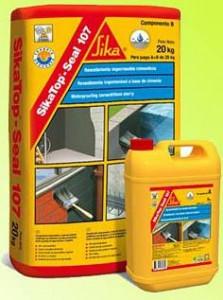 SikaTop Seal 107 mortar hidroizolatii terase la 25kg Super pret !