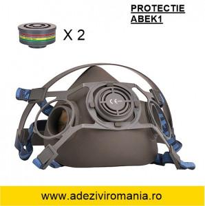 Echipamente protectie respiratorie - Masca gaz vapori solutii vopsea