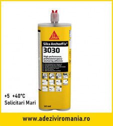 Sika Anchorfix 3030 Solicitari mari 585 ml