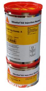 Sikadur 52 ambalaj 30 kg injectari reparatii pardoseli epoxidic bicomponent