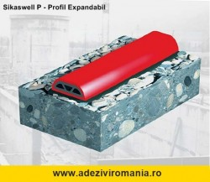 Banda hidroizolatoare expandabila SikaSwell P 2507 H lungime 10 m