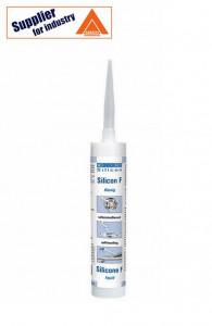 Etansant lichid, autonivelant Weicon Silicon F, lipiri elastice, transparent 310ml