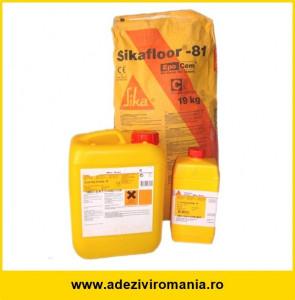 Sapa autonivelanta Sikafloor 81 Epocem 2-3 mm