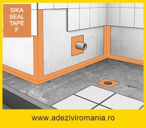 Sika Seal-tape F aderenta marita 25 m