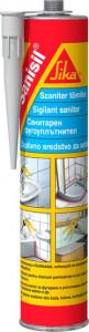 Sanisil silicon sanitar Alb 300 ml