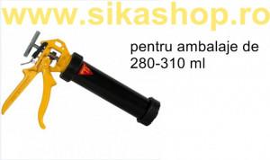 Pistol Sika Powerflow combi 310 ml silicon