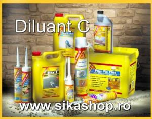 Diluant C pentru produsele SikaLastic 490T si Sikagard 680 S ambalaj 10 litri