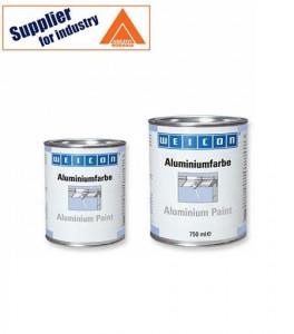 Vopsea de aluminiu Weicon 375ml protectie anticoroziva metale