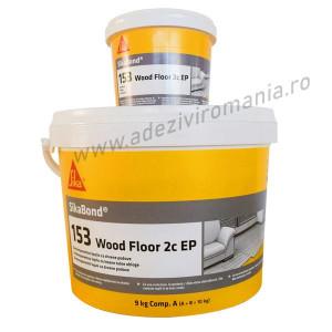 Adeziv parchet SikaBond-153 WoodFloor bicomponent