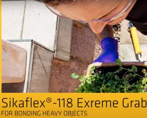 Noul adeziv puternic Sikaflex Extrem Grab 118