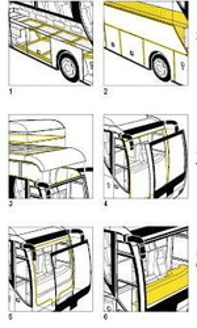 Sikaflex 221 Adeziv Sigilant Auto, metal, tabla, PVC 300 ml Alb