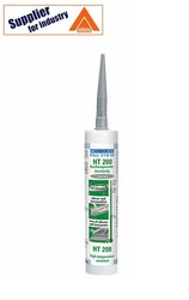 Adeziv si etansant pastos Weicon Flex 310 M HT200, rezistent la temperaturi inalte, gri 310ml