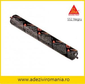 Adeziv metal sticla lemn plastic tabla Sikaflex 552 NEGRU