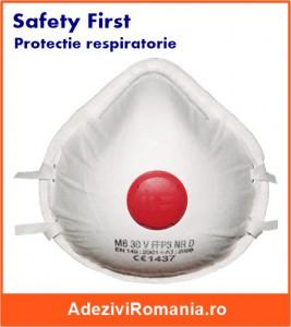 LIPSA STOC Masca de protectie pentru substante toxice FFP3