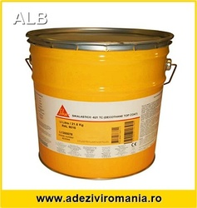 SikaLastic 621 alb 7.2 kg - RAL9016 pentru acoperis