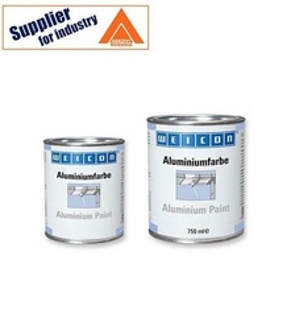 Vopsea de aluminiu Weicon protectie anticoroziva metale 750ml