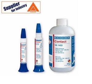 Adeziv lichid Weicon Contact VA 1403, transparent pentru lipirea diverselor materiale 30g