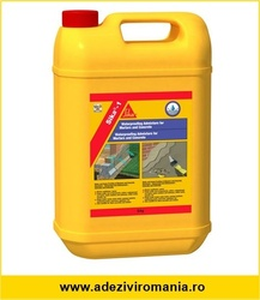 Sika 1 Aditiv ambalaj 25 litri hidroizolatii tip apastop