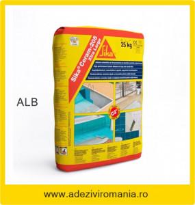 Adeziv flexibil gresie faianta SikaCeram 205 alb 25 kg