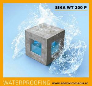 Apa Stop beton Sika WT 200 P 1.75 kg