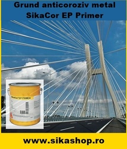 Grund anticoroziv structuri metalice SikaCor EP Primer 30kg