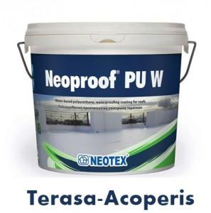 Hidroizolatie terasa Topwork Neoproof 40 Poliuretan 13 kg