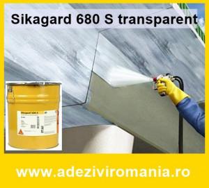 Vopsea protectie beton Sikagard 680 S 20 kg incolor lucios