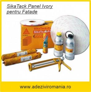 Adeziv fatade Sika Tack Panel Ivory ambalaj 600 ml