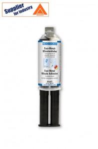 Adeziv epoxidic Fast Metal 24ml rezistent la soc, intarire rapida