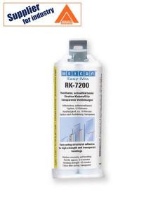 Adeziv transparent puternic Easy-Mix RK-7200 rezistent la impact, intarire rapida 50g