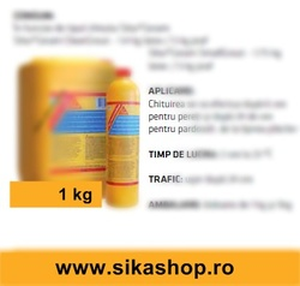 Aditiv pentru chit de rosturi flexibil Sika-Ceram-Latex-Grout 1kg