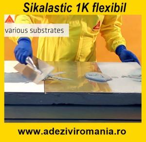 Hidroizolatie flexibila terasa SikaLastic 1K sac 20 kg