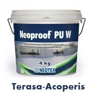 Hidroizolatie terasa Topwork Neoproof Poliuretan 4 kg