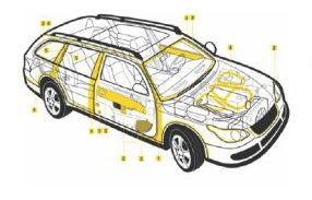 Sikaflex 521 UV 300 ml Adeziv Auto Alb - la comanda