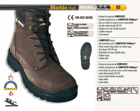 Bocanci de protectie S3 Marble