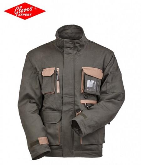 Jachetă cu fermoar ascuns şi manşetă reglabilă SNIPER ELITE