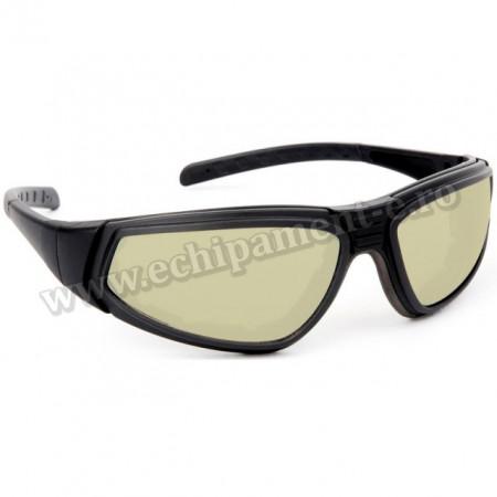 Ochelari de protectie Flylux cu lentile antizgariere, protectie UV400 pentru interior si exterior