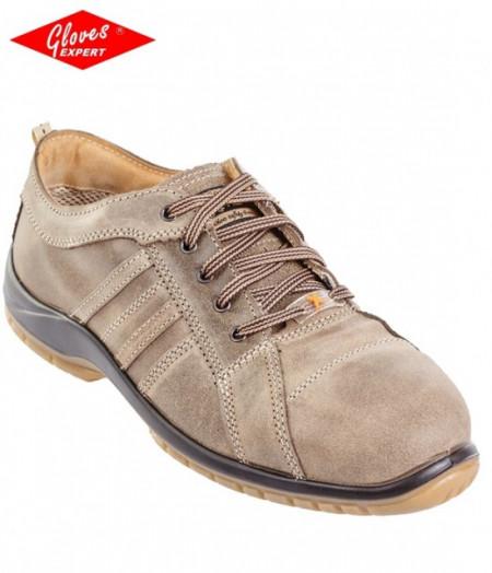 Pantofi de protectie din piele nappa respiranta, hidrofobizata ERMES (S3 SRC)