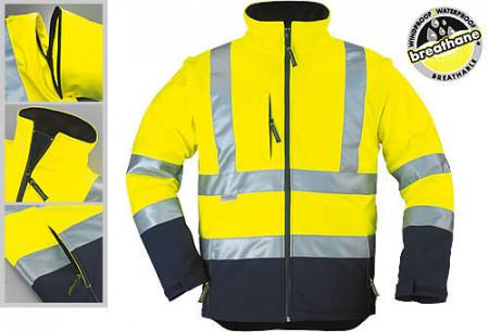 Jachetă reflectorizantă 2 în 1