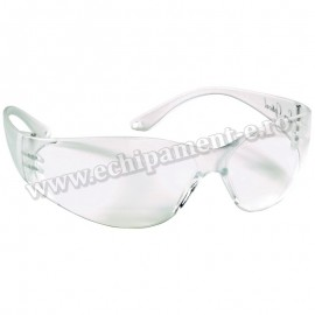 Ochelari de protectie POKELUX cu lentila incolora antiaburire