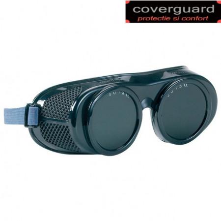 Ochelari sudor cu banda elastica cu orificii de aerisire pe partea laterala, Lux Optical