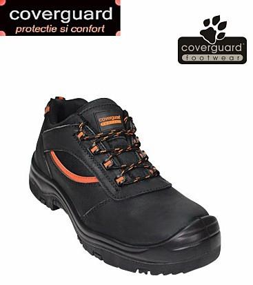Pantofi de protectie S3 din piele integrala cu dungi reflectorizante