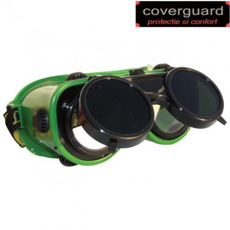Ochelari protectie sudura,lentile incolore,sticla rabatabila pentru sudura, REVLUX